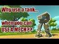 Making a tank to win against Al Magma(Scrap Mechanic)