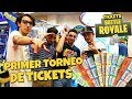 PRIMER TORNEO NACIONAL TICKETS BATTLE ROYALE | CON JUSTMAMING
