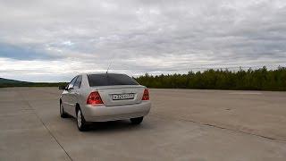 Знакомство с Toyota Corolla 1.6 110. 300 тысяч и она ваша!