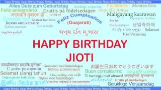 Jioti   Languages Idiomas - Happy Birthday