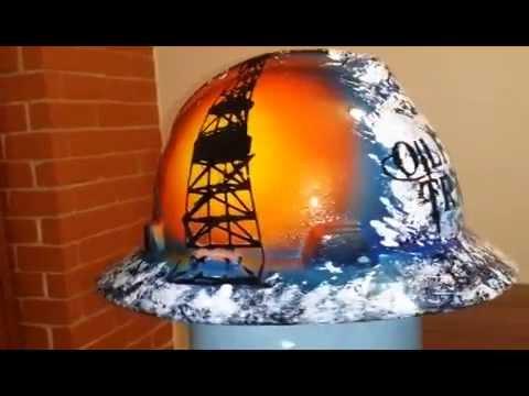a33a8ab6d Oilfield Trash Custom Hard Hat