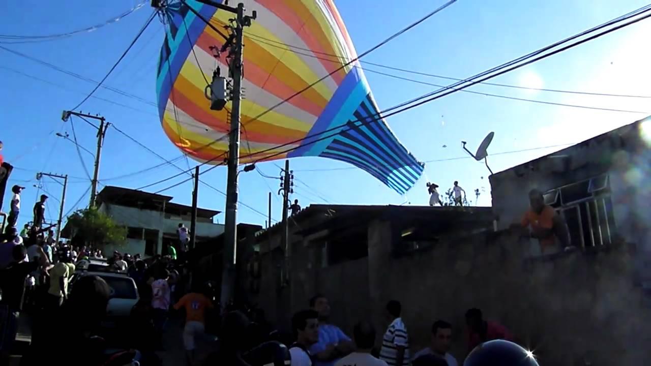 resgate balão sem fogo maua são gonçalo - YouTube