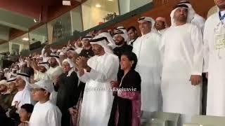 شاهد.. فرحة الشيخ محمد بن زايد بتسجيل منتخب الإمارات الهدف الثاني في مرمى قيرغيزستان