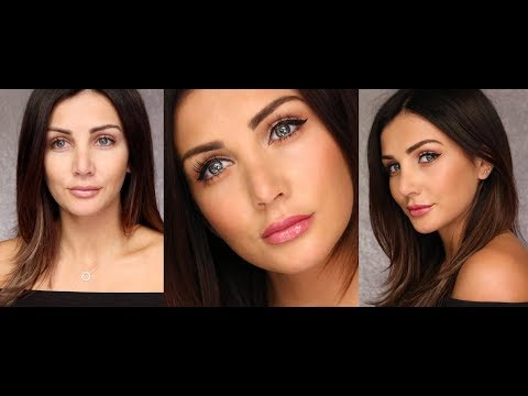 Natural Make-Up With EASY Liquid Eyeline!!!