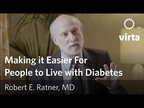 Robert E. Ratner on reversing type 2 diabetes and making it easier for people to live with diabetes
