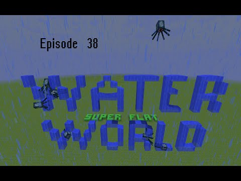 Let's Play Minecraft Super Flat Water World : Episode 38 : Trading the future for the past