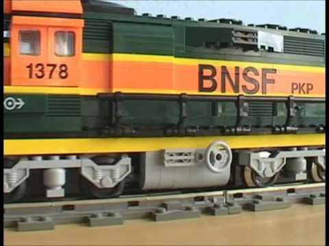 LEGO Train 10133 Burlington Northern Santa Fe