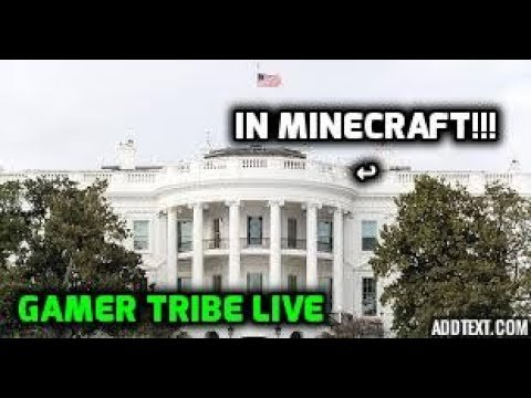 BUILDING THE WHITE HOUSE IN MINECRAFT BEDWARS!!! (Gamer Tribe)