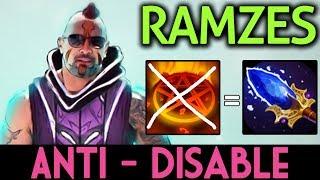 RAMZES Dota 2 [Anti Mage] Aghanim's Scepter ANTI-DISABLE