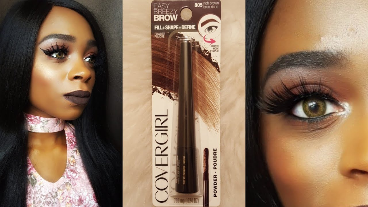 Easy Breezy Brow Fill + Shape + Define Powder by Covergirl #3