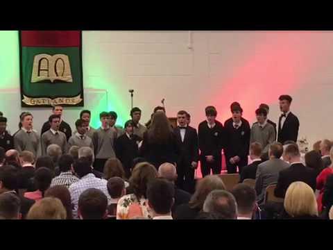 Oatlands choir 2017 graduation as gaeilge ceann dubh dilis