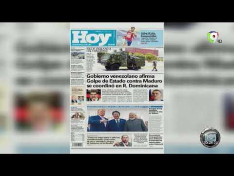 Lectura De Las Principales Noticias De Los Periódicos Dominicanos