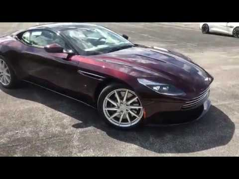 2017 Aston Martin Db11 Launch Edition Ahl02391 Ext Divine Red Int Ice Mocha Youtube