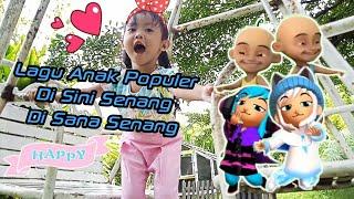 Disini Senang Disana Senang | Lagu Anak Indonesia Populer | Diary Shanum
