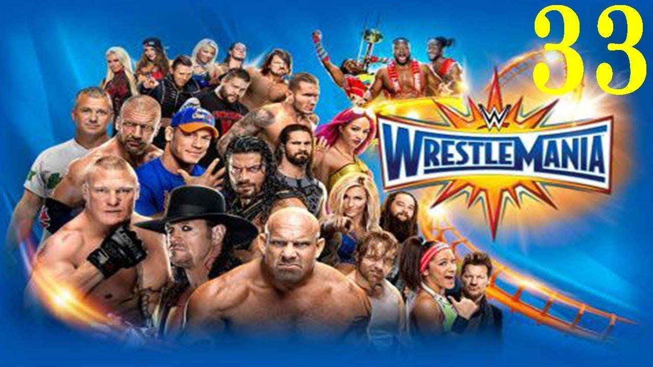 Download WWE WrestleMania 33 FULL MATCH