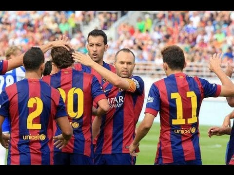 TalkFCB Match Review ► Helsinki 0 - 6 FC Barcelona
