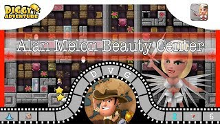 [~Freya~] #6 Alan Melon Beauty Center - Diggy's Adventure