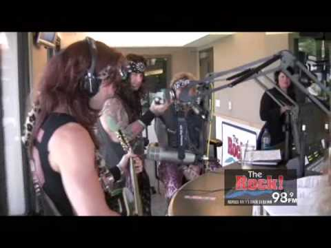 "Steel Panther Live on The Johnny Dare Morning Show - ""Girl from Oklahoma"""