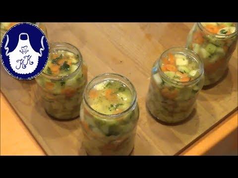 Zucchinisalat im Glas einfach lecker