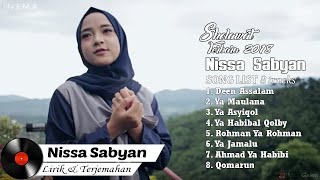 Gambar cover DOWNLOAD NISSA SABYAN Full Album Video Lirik   Lagu Sholawat Terbaru 2018