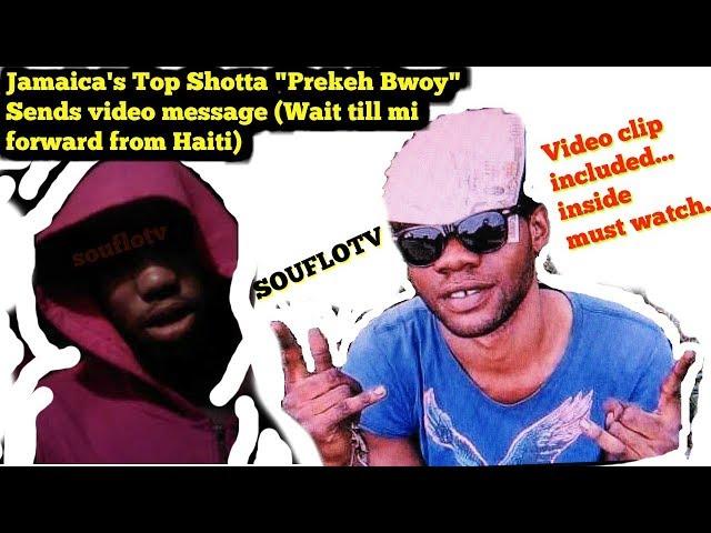 Jamaicas Most wanted Prekeh Bwoy sends message