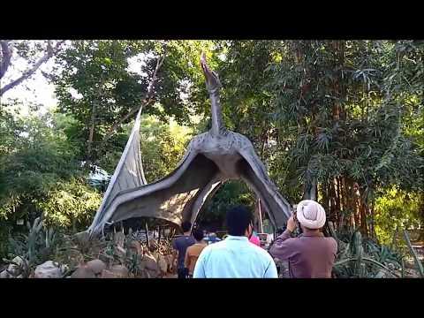 Natural Theme Dinosaur Park Indroda Gandhinagar