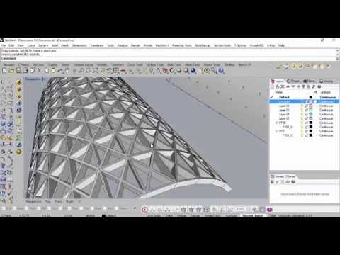 Panelling tools in Rhino.mp4