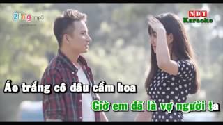 Vợ Người Ta (Karaoke) - Phan Mạnh Quỳnh (Beat Gốc)