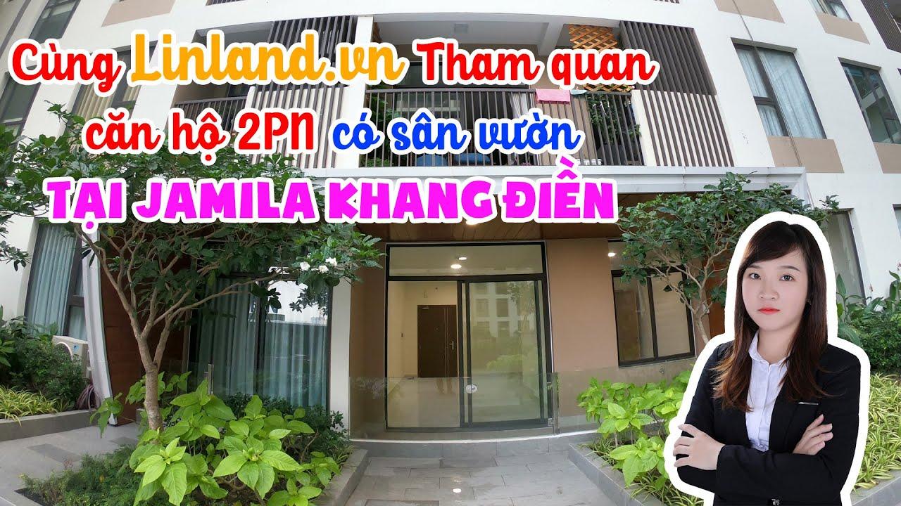 Căn hộ 2 phòng Ngủ (2PN) sân vườn tại Khu căn hộ Jamila Khang Điền