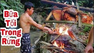Primitive Technology,mountain forest cuisine, grilled chicken, grilled chicken, grilled pork  # 943
