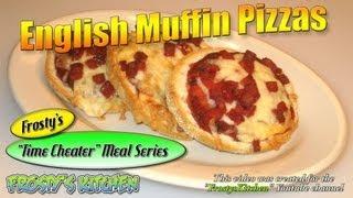 English Muffin Pizzas Recipe