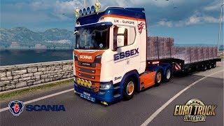 ETS2 1.30 Open Beta - Scania New Generation V8 Stock Sound