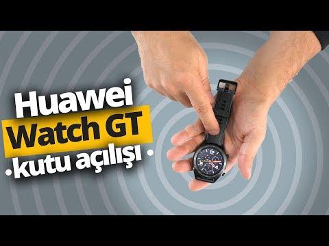 Şarjı bitmeyen akıllı saat kutusundan çıkıyor: Huawei Watch GT