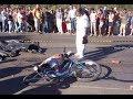 велосипедист сбил человека