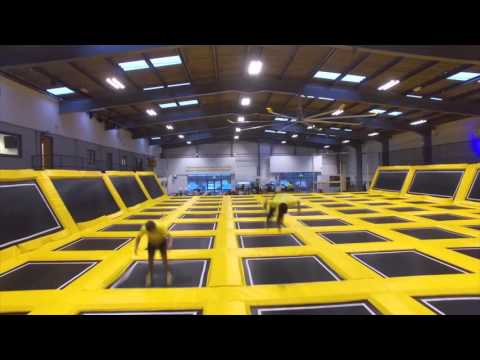 A fly through Go Air Trampoline Park!