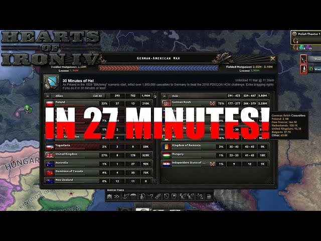 Hearts of Iron IV: 30 Minutes of Hel    In 27 Minutes (1939