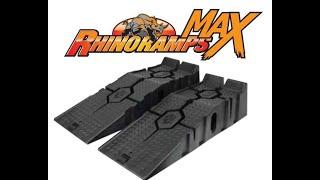 RhinoRamps Max 16000 lb GVW  Vehicle Ramp Set Review