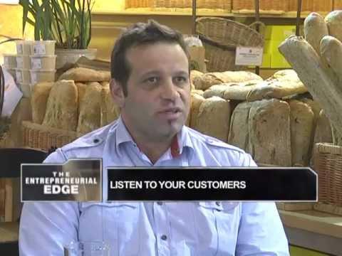 Michael Kalogirou - co-Founder of Fournos Bakery - Part 1