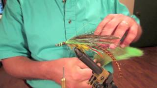Repeat youtube video FishTales Fly Tying: The RuPaul Drag Queen a Big Hairy Bass Bug