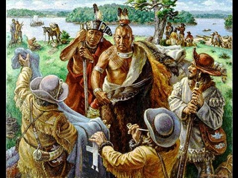 HENRY R. SCHOOLCRAFT: A DESTERTED OSAGE INDIAN VILLAGE - NATIVE AMERICAN