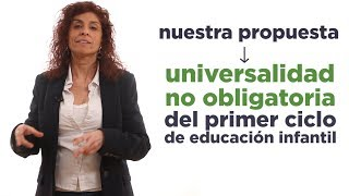 Educación 0-3 años para todas. Rosana Alonso.