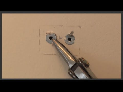 Metal Wall Anchors metal wall anchor removal - youtube