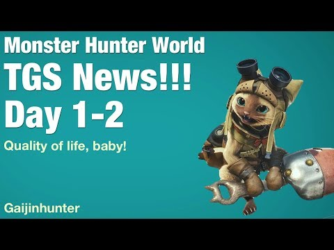 Mster Hunter World: TGS News 12