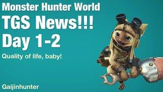 Monster Hunter World: TGS News 1/2
