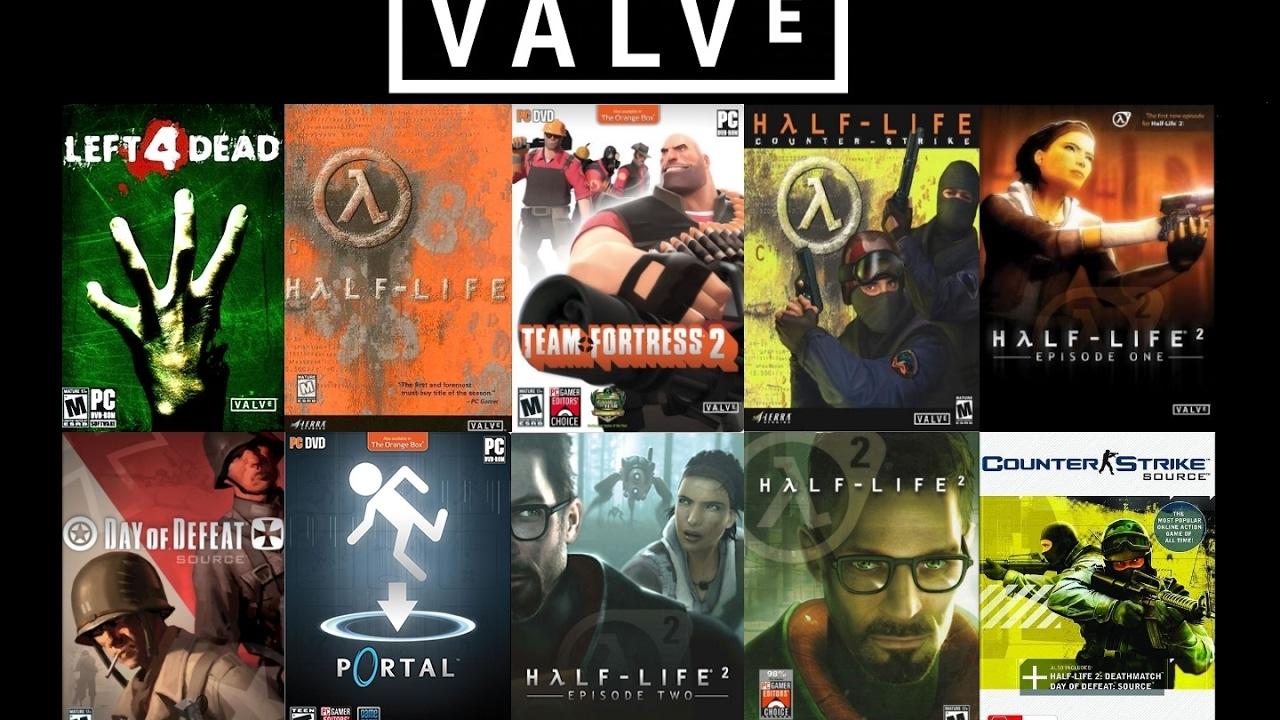 Resultado de imagen para valve y sus juegos