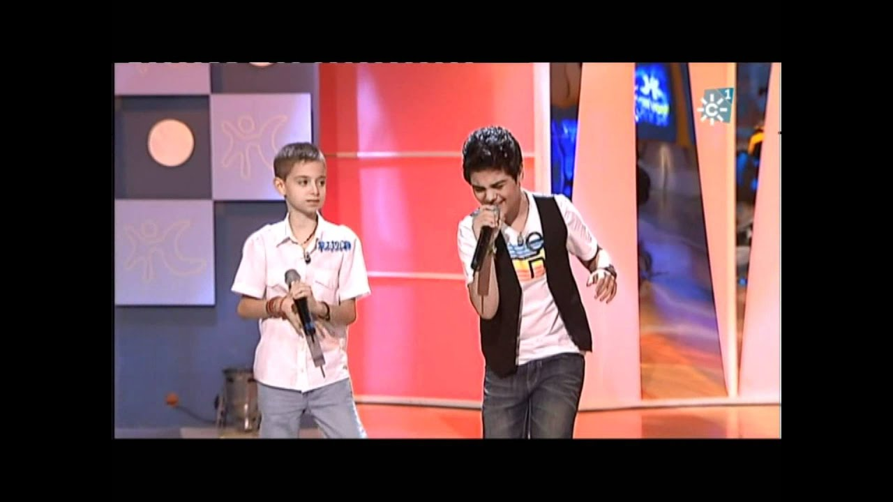 Abraham Mateo 12 Años Y David Parejo 10 Años Yo No Me Doy Por Vencido Luis Fonsi Youtube