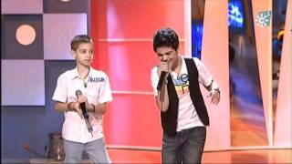 Abraham Mateo (12 años) y David Parejo (10 años) - YO NO ME DOY POR VENCIDO - Luis Fonsi