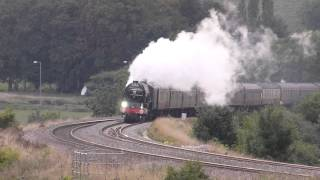 60163 `Tornado`  - Whistles Galore -  @ Newton st Loe, Bath 07-09-13