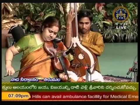 Lalgudi GJR Krishna Vijayalakshmi Violin 05 SindhuBhairavi Venkatachalanilayam PurandaraDasar