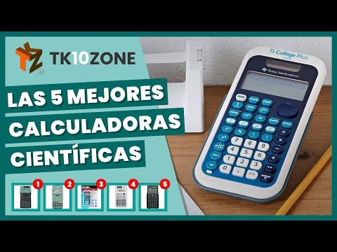 Las 5 mejores calculadoras científicas